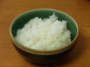 JA羽後産 あきたこまち 萌え米 炊き上がり